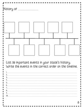 My State Fact File: Your State