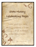 My State History Notebook: Notebooking Pages for ANY State