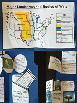 My State Lapbook Project (USA)