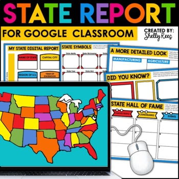 My State Report - Interactive Digital Project - Google Version
