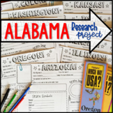 My State Research Project – ALABAMA!