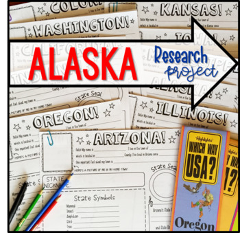 My State Research Project - ALASKA!