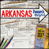 My State Research Project – ARKANSAS!
