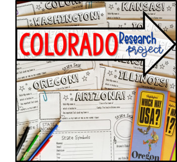 My State Research Project - COLORADO!
