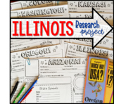 My State Research Project – ILLINOIS!