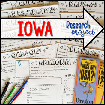 My State Research Project – IOWA!