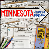 My State Research Project – MINNESOTA!