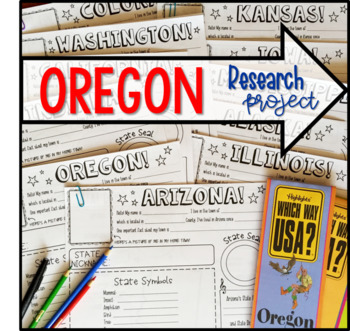 My State Research Project – OREGON!