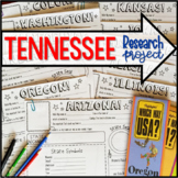 My State Research Project – TENNESSEE!