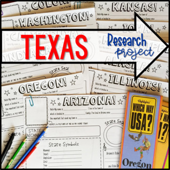 My State Research Project – TEXAS!