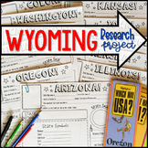 My State Research Project – WYOMING!