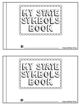 My State Symbols Book -- Works with ALL States within the United States