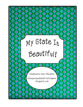 My State is Beautiful- A state unit packet