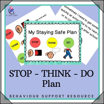 My Staying Safe Plan - 36 pages