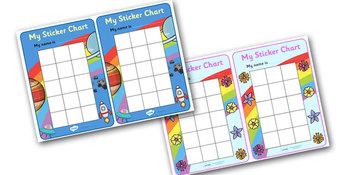 My Sticker Chart