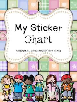 My Sticker Chart Freebie