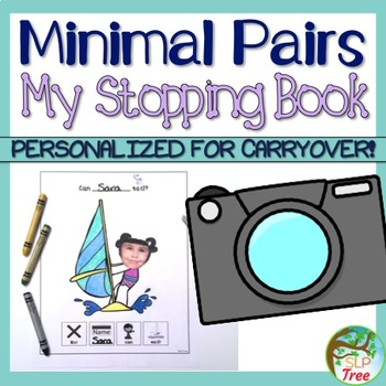My Stopping Book: Minimal Pairs Carryover Activity for Generalization