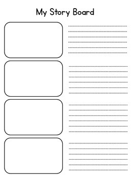 My Story Board {4 Templates}