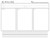 My Story Map: Story Sequencing Map for Common Core State S