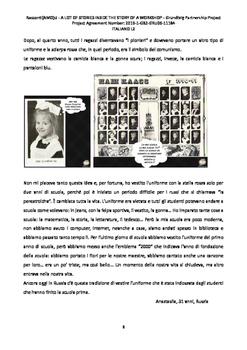 My Story - Racconti(AMO)ci, storie di vita e di cuore - Collection of texts