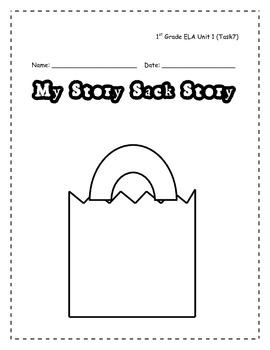My Story Sack Story (1st Grade CCGPS ELA Unit 1 Task 7)
