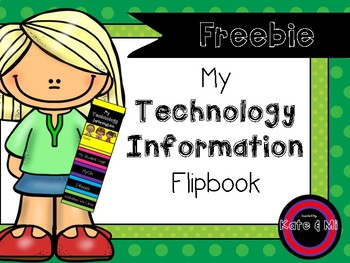 My Student Technology FlipBook Cards