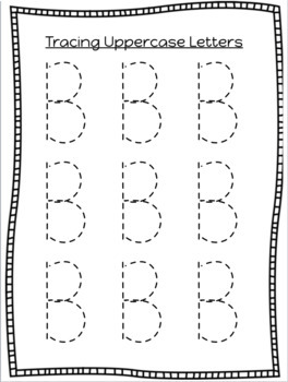 Tracing Lines, Shapes, Letters, and Numbers Worksheets