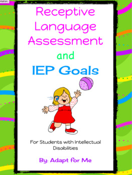 Receptive Language Assessment for Students with Intellectual Disabilities