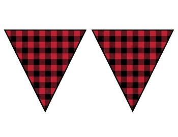 My Students are Merry & Bright Buffalo Plaid Banner & Bulletin Board