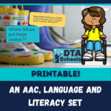 My Style-Clothing: A Printable AAC, Language & Literacy Set