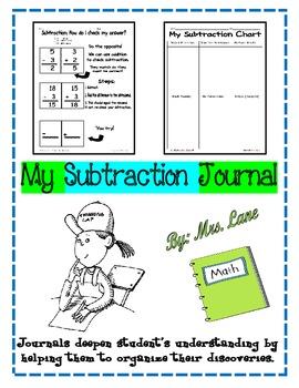 My Subtraction Journal