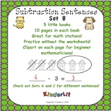 Kindergarten Subtraction - Set B
