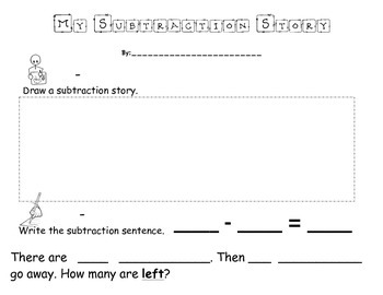 My Subtraction Story