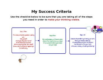 My Success Criteria