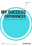 My Success Experiences - personal development exercise for Grades 8 - 12