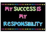 My Success Is My Responsibility
