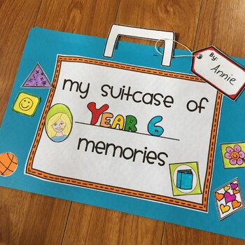 My Suitcase of Memories - An end of year reflection activity!
