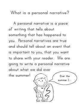 My Summer: A Personal Narrative