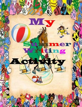 Summer Writing Activity for 1st-3rd Grade