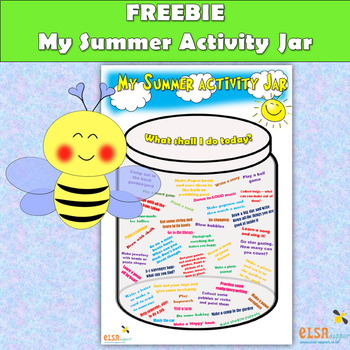 My Summer Activity Jar - Summer activities