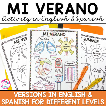 My Summer Activity in Spanish and English