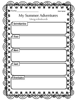 My Summer Adventure