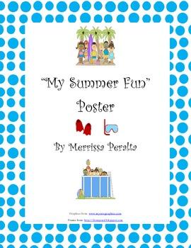 My Summer Fun Poster