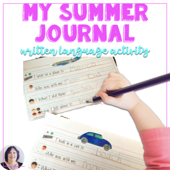 My Summer Journal: Writing About Vacation Activities