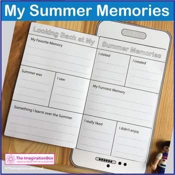 Back to School Art & Creative Writing Activity  'My Summer Memories'
