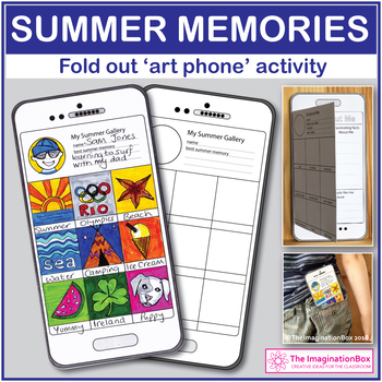 My Summer Memories Art and Writing creative lesson