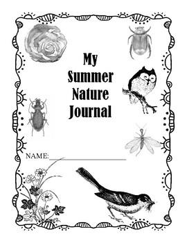 My Summer Nature Journal