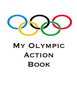 My Summer Olympics Action Book (Adapted, Speech, Visuals)