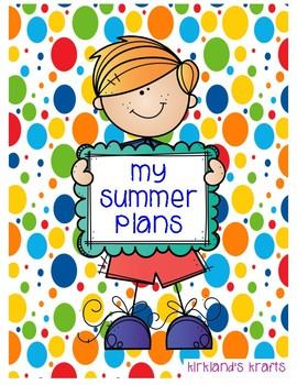 My Summer Plans FREEBIE