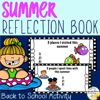 My Summer Reflection Book